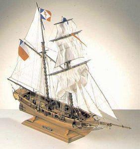 1930-11459-Toulonnaise-Model-Boat-Kit-Corel-SM52