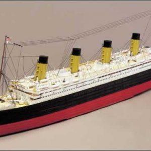 Titanic Complete Static Model Boat Kit - Mantua Models (725-9 excluding Motor)