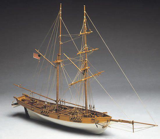 1936-11467-Albatros-US-Coastguard-Cutter-Model-Boat-Kit-Mantua-Models-771