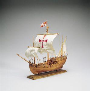 1968-11625-Pinta-Caravel-Model-Boat-Kit-Amati-1410