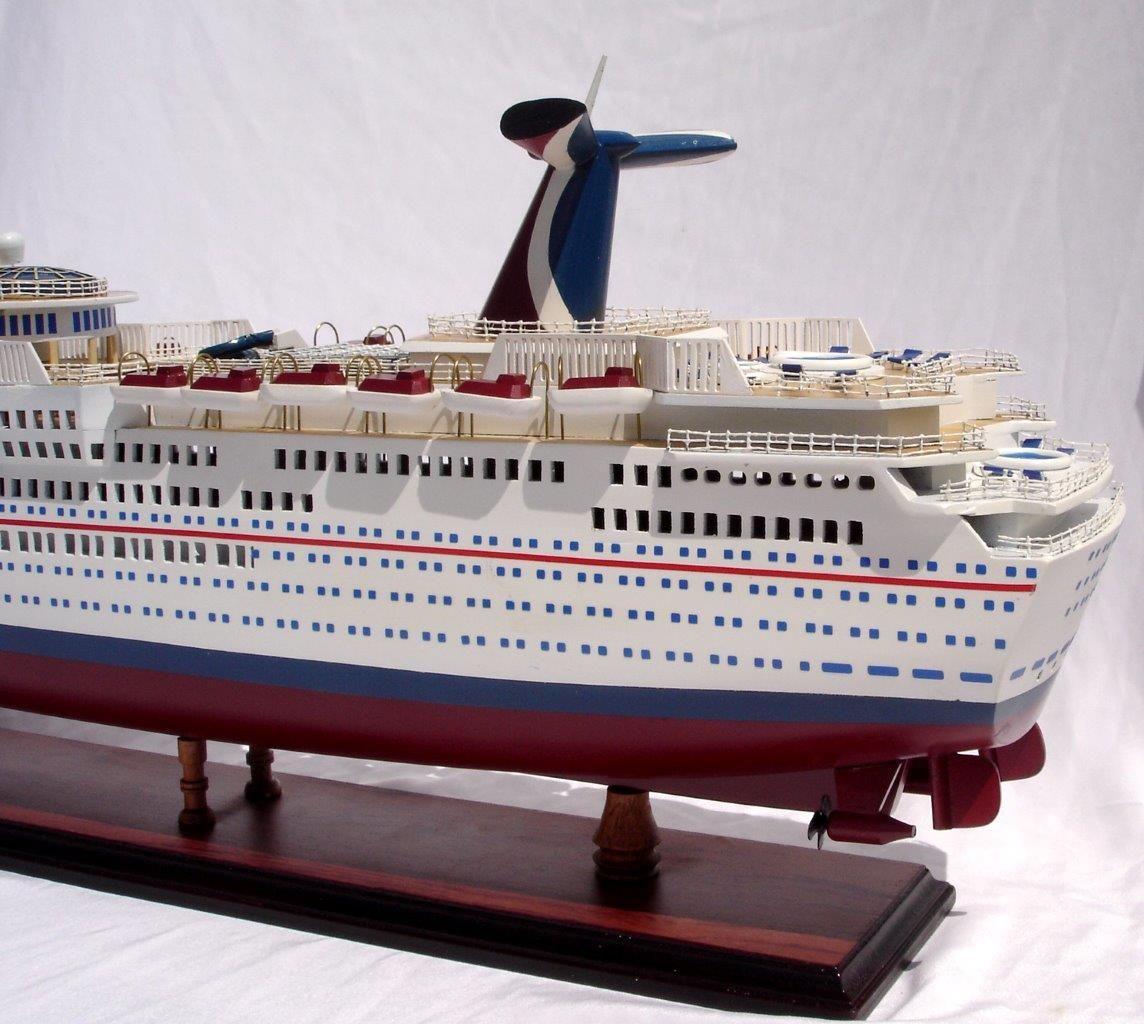 1985-11666-Carnival-Paradise-wooden-model-boat