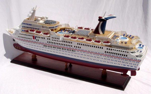 1985-11668-Carnival-Paradise-wooden-model-boat