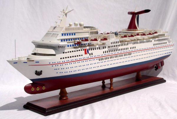 1985-11669-Carnival-Paradise-wooden-model-boat