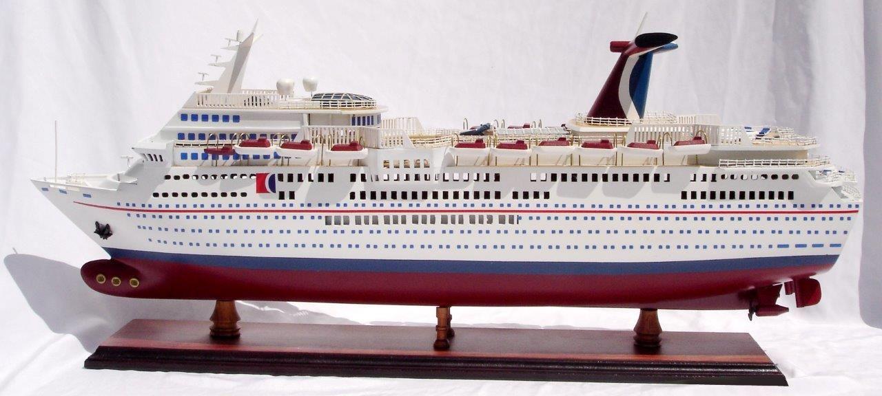 1985-11671-Carnival-Paradise-wooden-model-boat