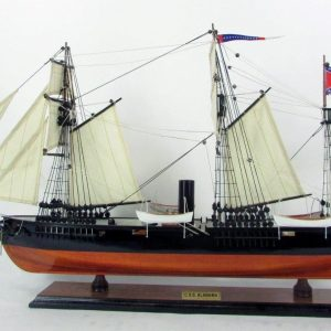 CSS Alabama Ship Model - GN (TS0116W)