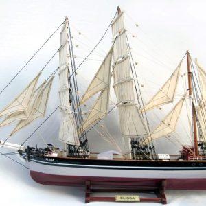 Elissa Wooden Model Ship - GN (TS0126P)