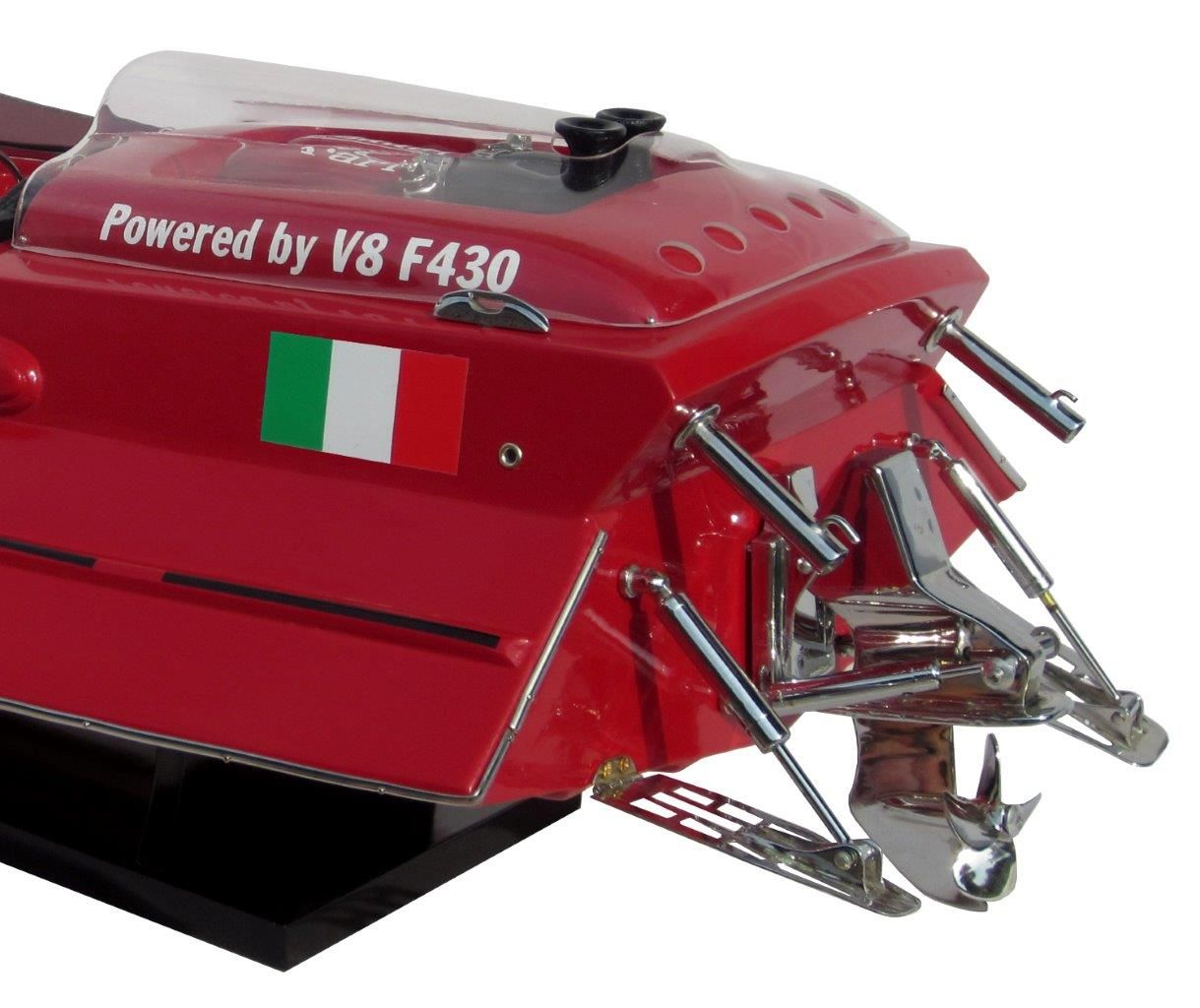 Ferrari F430 Model Ship - GN (SB0061P-70)