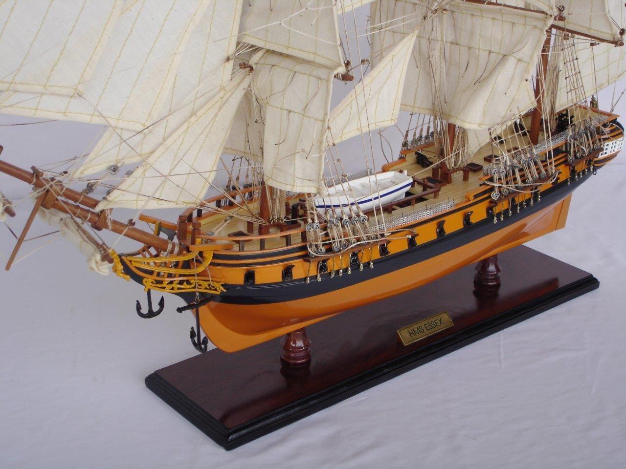 2020-11875-HMS-Essex-Model-Ship