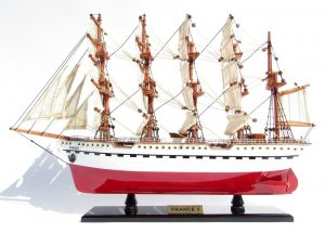 2045-12078-France-II-Wooden-Model-Ship