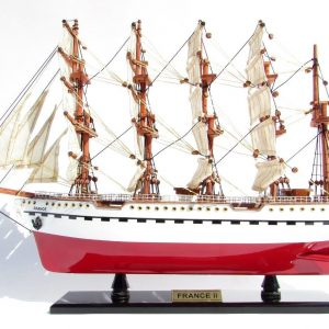 France II Wooden Model Ship - GN (TS0093P-80)