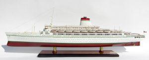 SS Leonardo Da Vinci White & Red Hull Ship Model - GN (CS0098P)