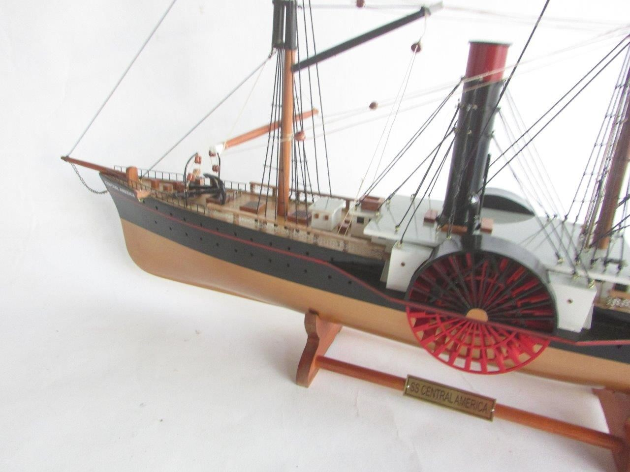 SS Central America Wooden Model Ship - GN (TS0109P)