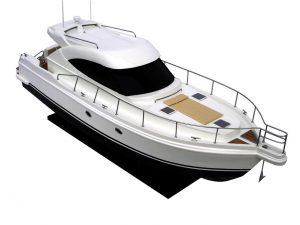 Riviera 4700 Model Boat - GN (SB0017P)
