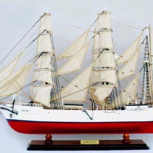 Gorch Fock I Wooden Model Ship - GN (TS0073P-80)
