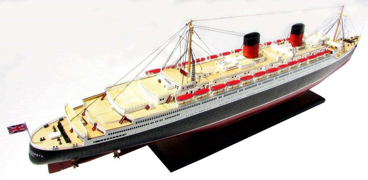 2087-12392-Queen-Elizabeth-Model-Ship