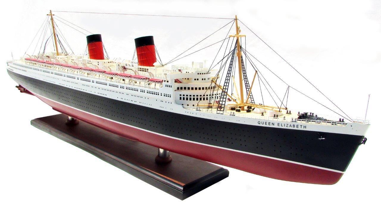 2087-12393-Queen-Elizabeth-Model-Ship