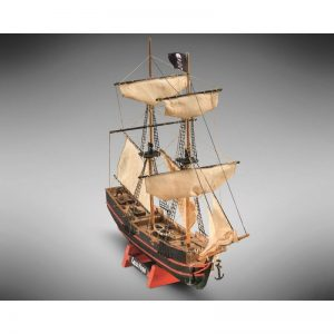 2102-12689-Capitan-Morgan-Model-Ship-Kit-Mini-Mamoli-MM05