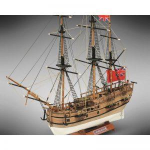 2109-12697-HMS-Endeavour-Ship-Model-Kit-Mini-Mamoli-MM18