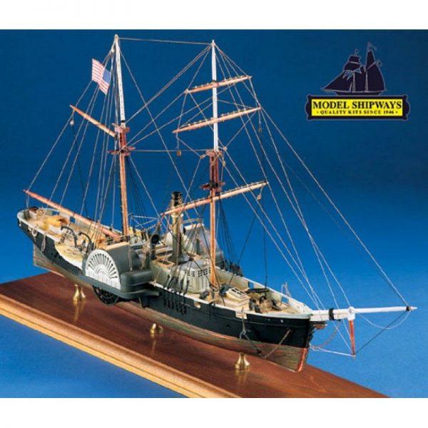 2117-12705-Harriet-Lane-Boat-Kit-Model-Shipways-MS2010