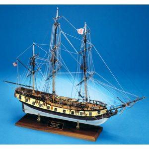 Rattlesnake Privateer (1780) Model Ship Kit - Model Shipways (MS2028)