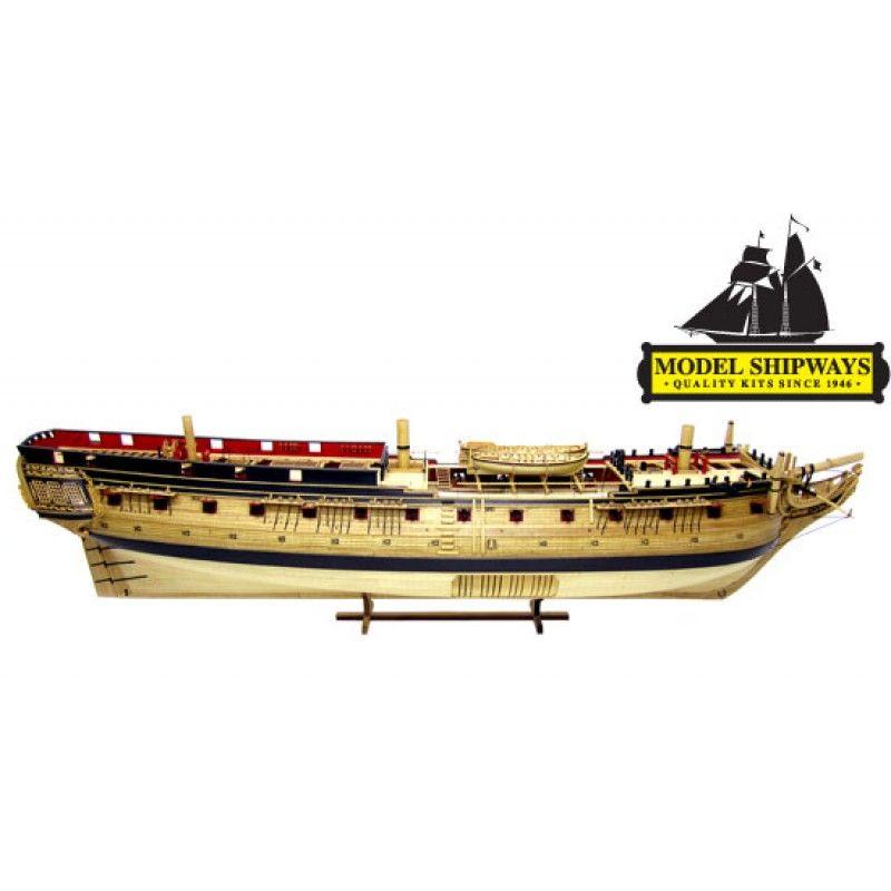 2126-12714-US-Frigate-Confederacy-1778-Ship-Kit-Model-Shipways-MS2262