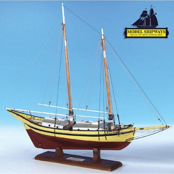Glad Tidings Pinky Schooner (1937) Kit - Model Shipways (MS2180)