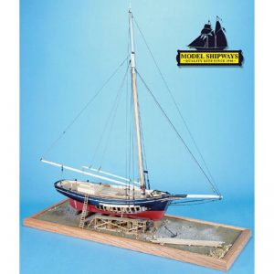 2134-12736-Emma-C-Berry-Lobster-Smack-Boat-Kit-Model-Shipways-MS2150