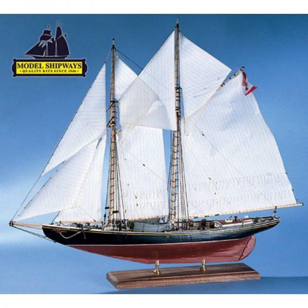 Bluenose Canadian Schooner Kit - Model Shipways (MS2130)