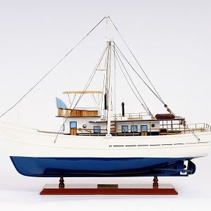 2241-13145-Dickie-Walker-Wooden-Model-Ship