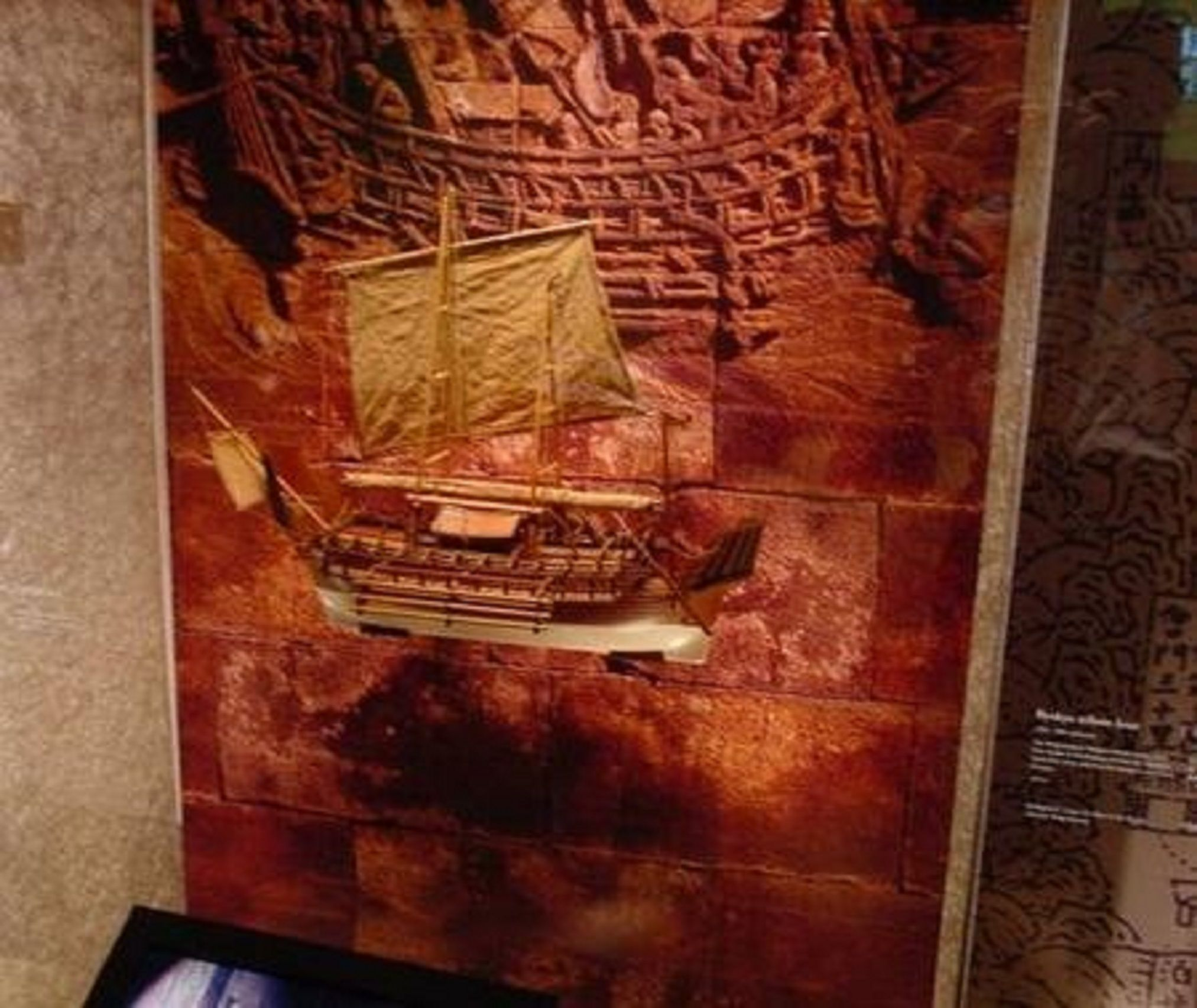 229-6979-Borobudur-model-ship-Premier-Range