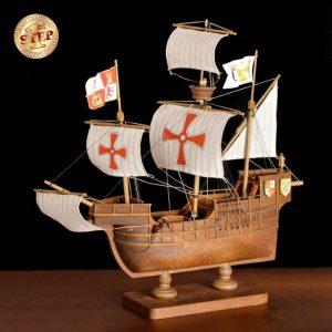 2508-14264-Santa-Maria-Model-Boat-Kit-60003
