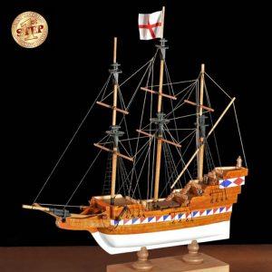 2509-14270-Elizabethan-Galleon-Model-Boat-Kit-60002