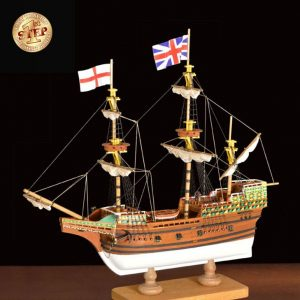 2514-14296-Mayflower-Model-Boat-Kit-60005