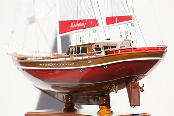 2534-14412-Akhenaton-Wooden-Model-Ship-Superior-Range