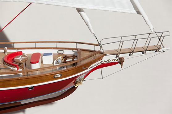 2534-14414-Akhenaton-Wooden-Model-Ship-Superior-Range