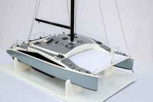 Cite D'Aleth Catamaran Model (Superior Range) - HM