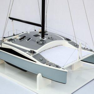 2537-14422-Catamaran-Lerouge-Model-Boat-Superior-Range