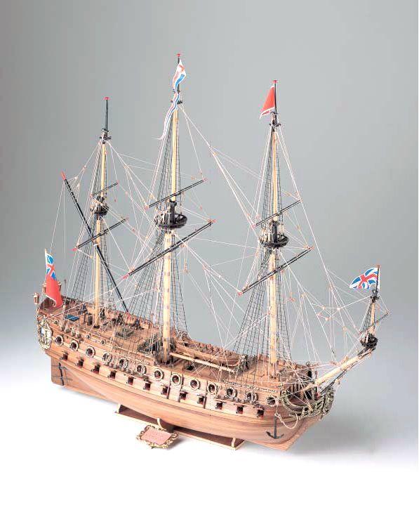 412-8006-HMS-Neptune-1700-Model-Ship-Kit