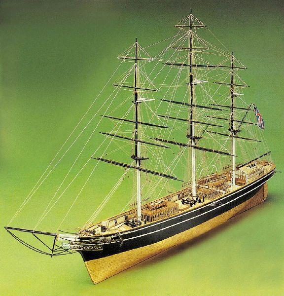 Cutty Sark Model Ship Kit - Sergal (789)