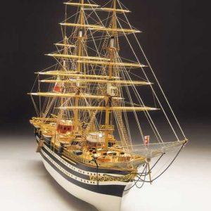 438-8017-Amerigo-Vespucci-1-Ship-Model-Kit