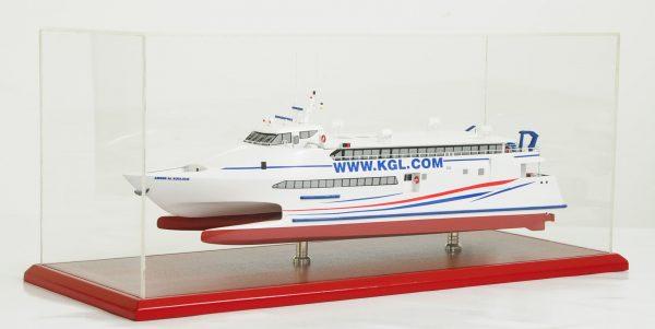 Kuwait Catamaran Model