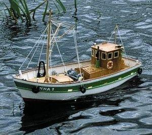 814-Anna-2-Model-Boat-Kit-Including-Fittings-Aeronaut-AN307503