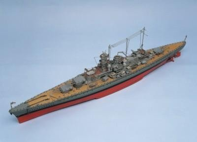 821-Scharnhorst-Model-Boat-Kit-Aeronaut-Including-fittings-AN362503