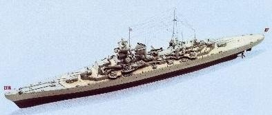 824-Prinz-Eugen-Model-Boat-Kit-Aeronaut-Including-fittings-AN362800
