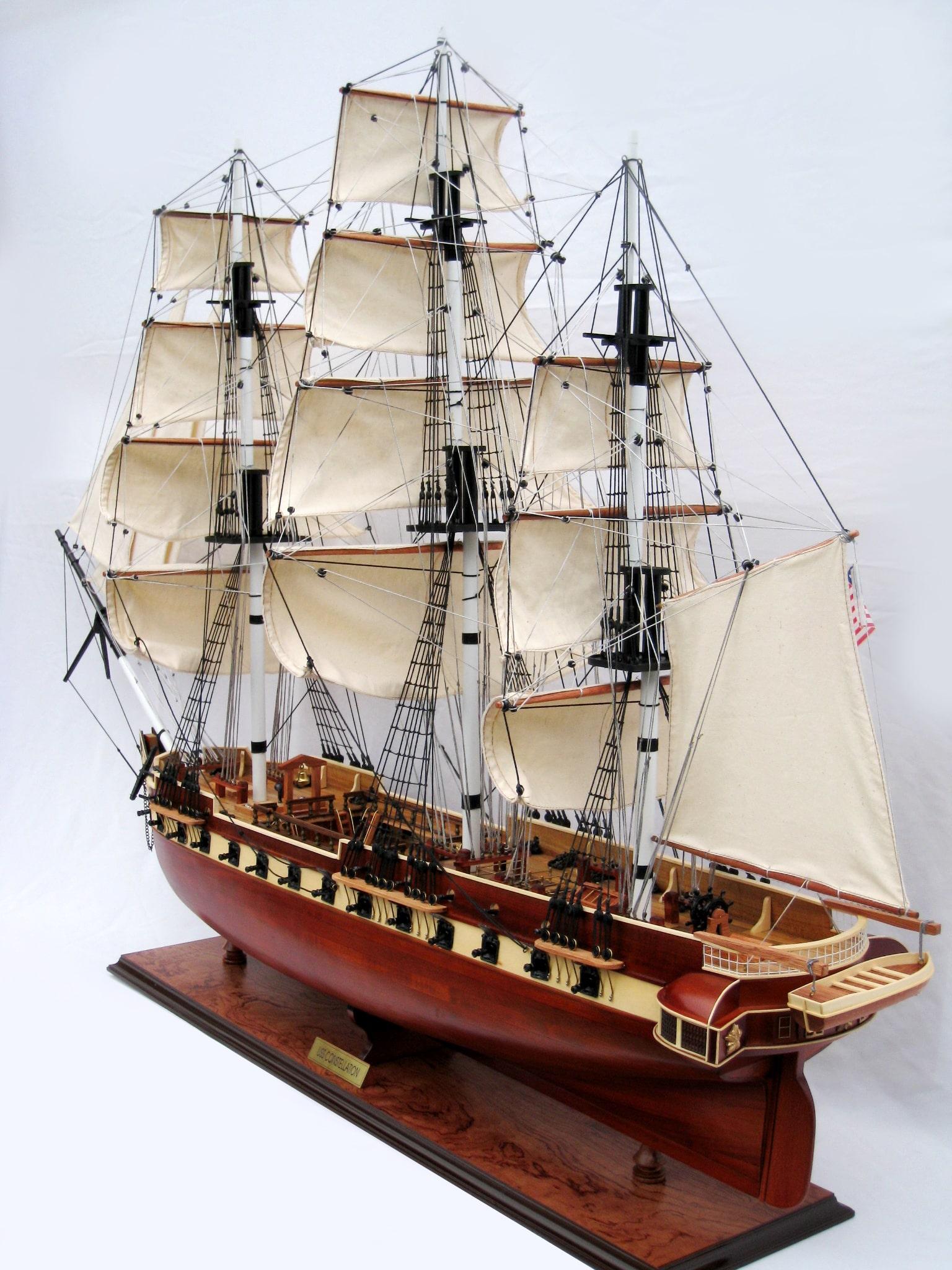 USS Constellation Ship Model (Standard Range) - GN (TS0021W)
