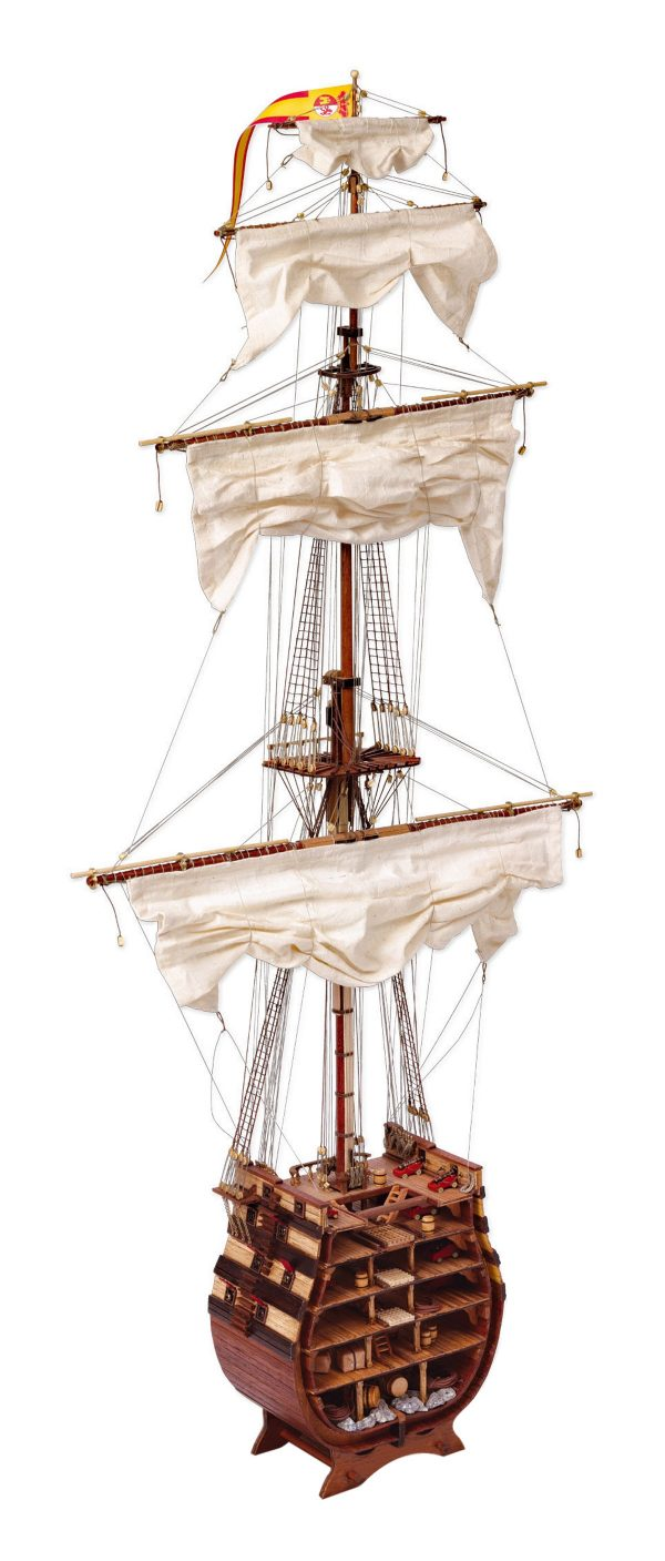 Santisima Trinidad Cross Section Model Boat Kit - Occre (16800)