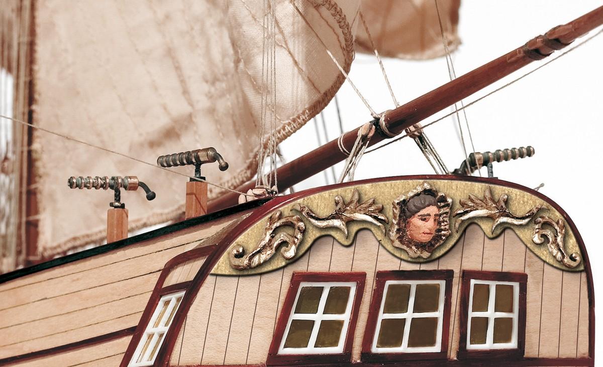 Corsair Brig Wooden Model Ship Kit - Occre (13600)