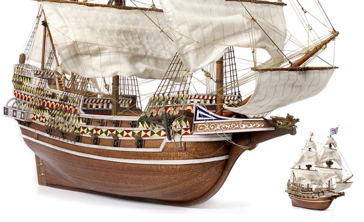 HMS Revenge Model Ship Kit - Occre (13004)