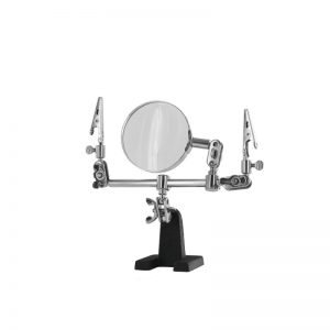Modelcraft Helping Hands & Glass Magnifier (PCL 2228)