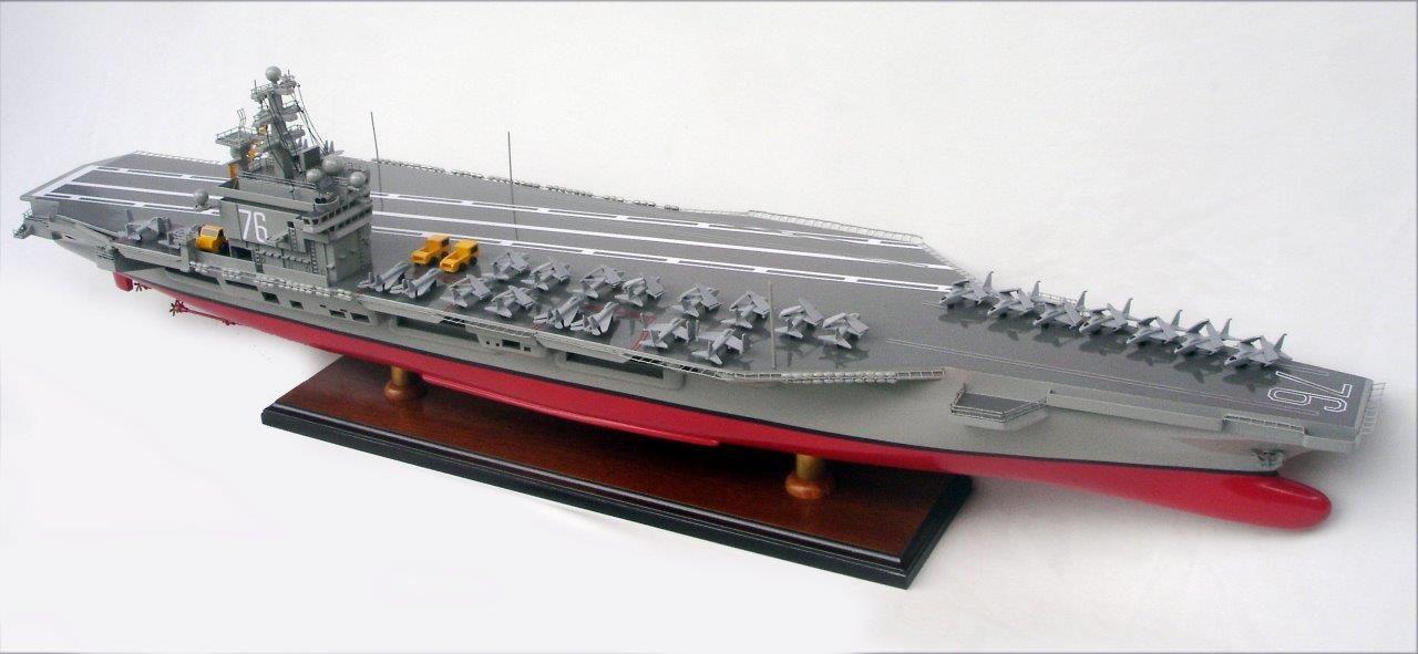USS Ronald Reagan CVN -76 Model Aircraft Carrier - GN (BT0051P)